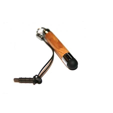 Stylet pour smartphone (Iphone, Samsung Galaxy Note, Nokia Lumia...) ou montre connectée en bois d'olivier