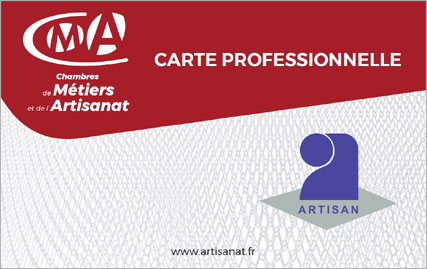 Carte Professionnelle Artisan