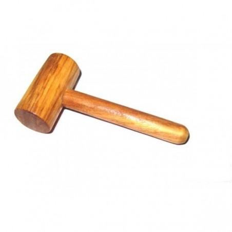 Petit Maillet en bois d'Olivier, petit maillet en bois