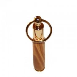 Porte-clés mini stylo plaqué OR 10K